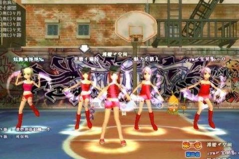 最新劲舞团游戏的模式